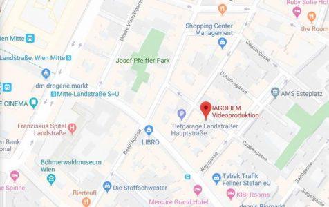 IAGOFILM auf Google Maps